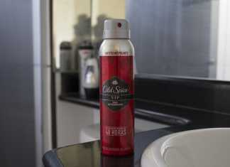 Old spice spray