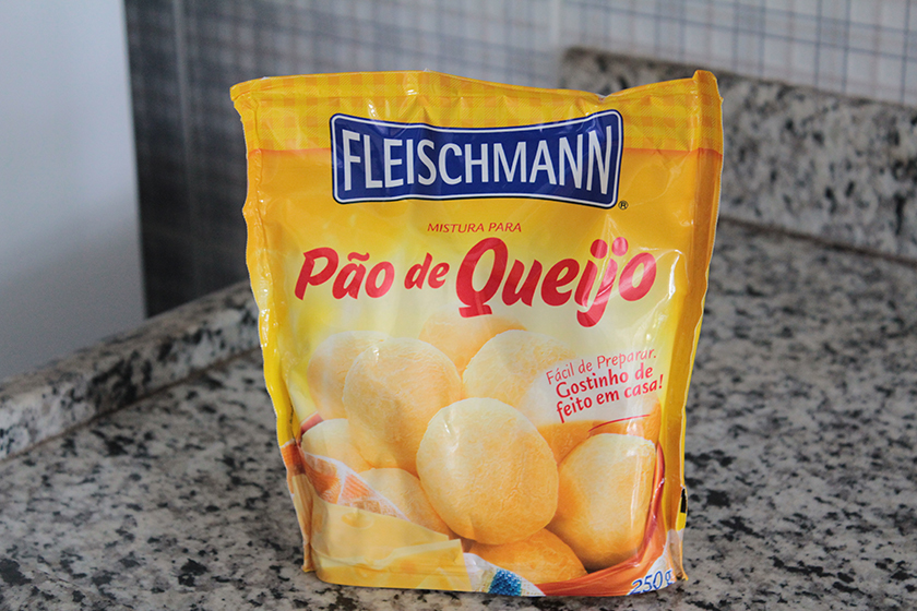 Mistura para pão de queijo fleischmann