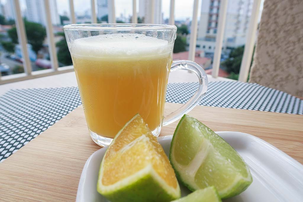Suco de Laranja com Limão