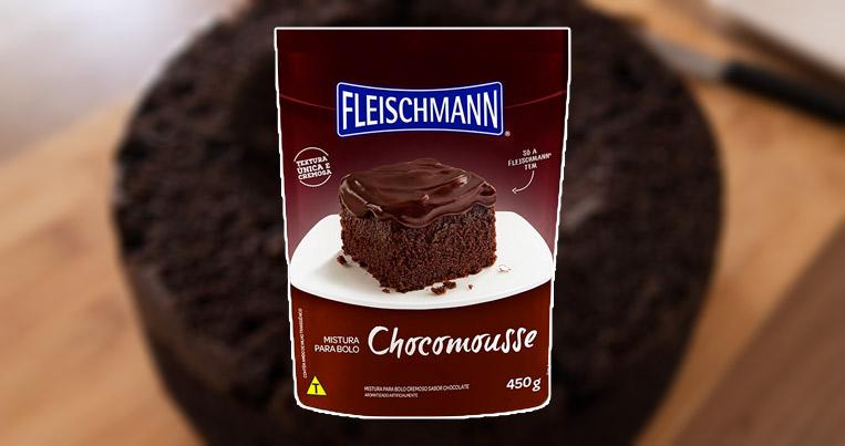 Chocomousse Fleischmann Embalagem
