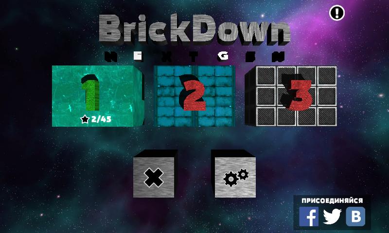 Brickdown Nextgen jogo android e ios