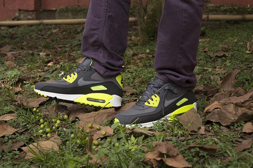 Nike air max 90 verde