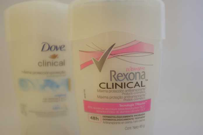 Rexona e dove clinical