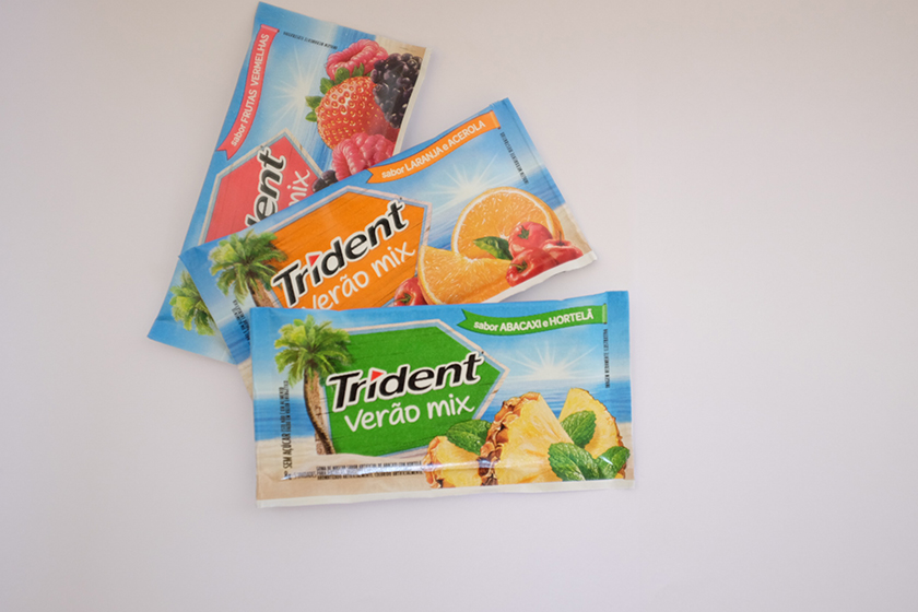 Trident verão mix sabores