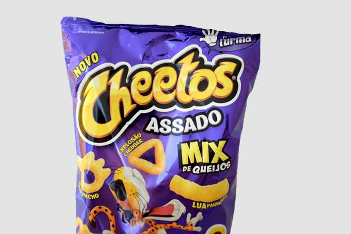 Cheetos assado mix de queijos