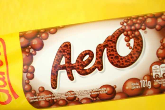 Chocolate garoto aero