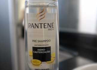 Shampoo Pantene anti resíduos