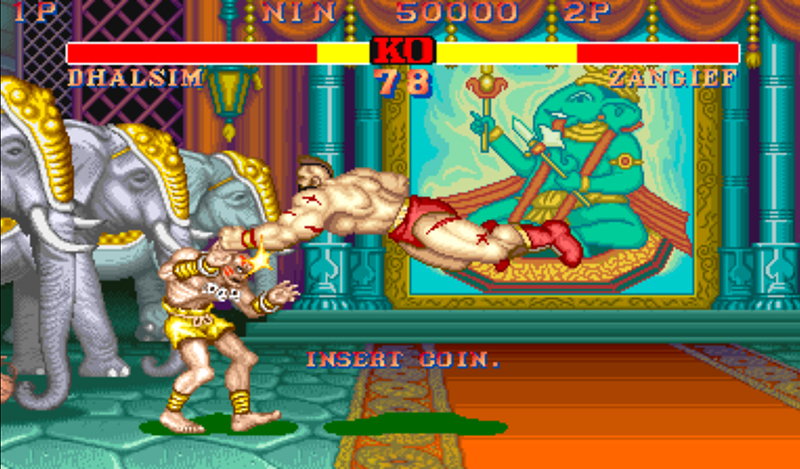 Street Fighter II internet arcade 2
