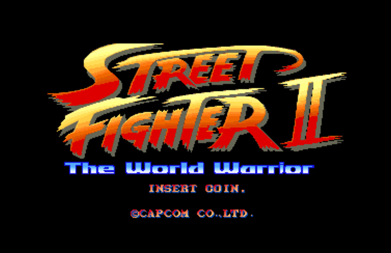 Street Fighter II internet arcade