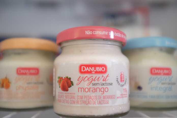 Iogurtes Danubio sem lactose