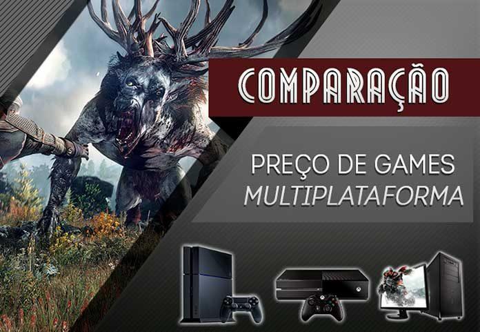 Infográfico Preço de Games 2015
