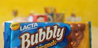 Lacta Bubbly caramelo