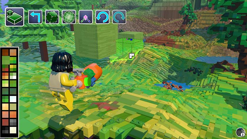 Lego Worlds construção modo livre