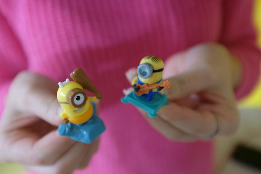 Kinder ovo surpresa dos Minions 2