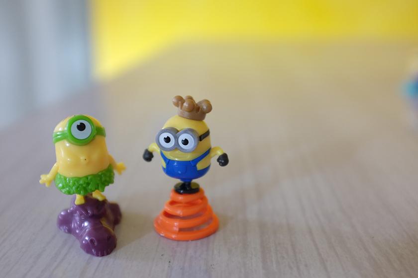 Kinder ovo surpresa dos Minions 3