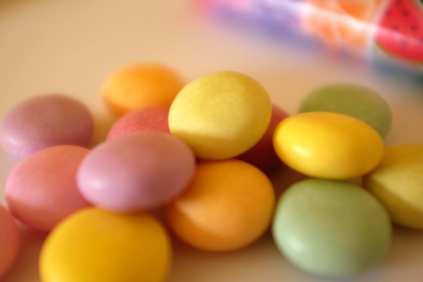 Mentos Rainbow pastilhas