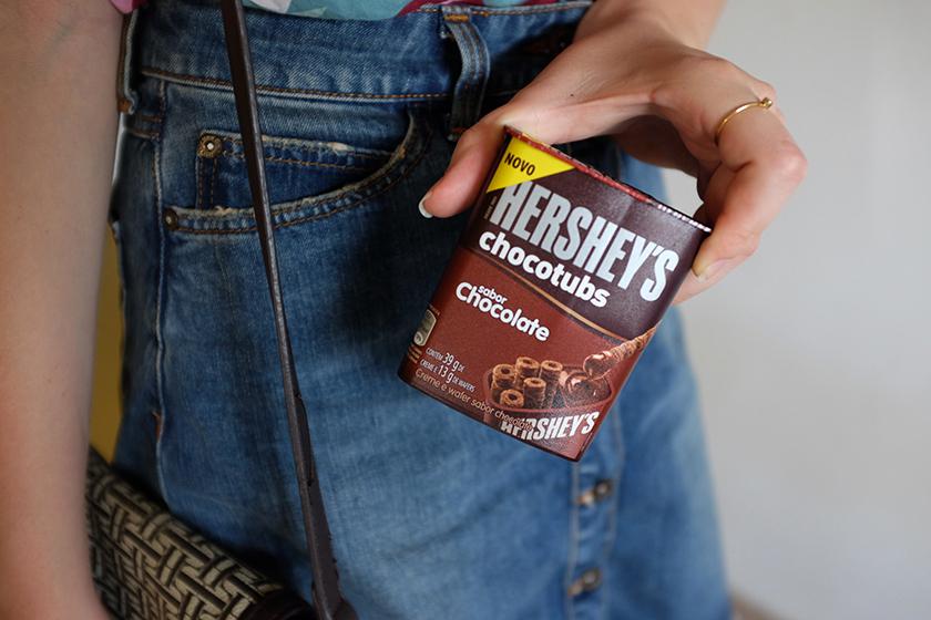 Hershey's Chocotubs chocolate