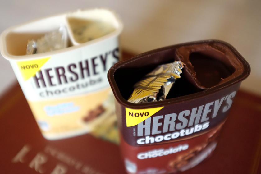 Chocotubs Hershey's embalagem