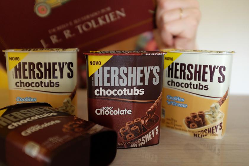 Chocotubs Hershey's sabores