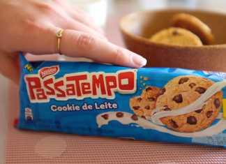 Cookie de leite Passatempo