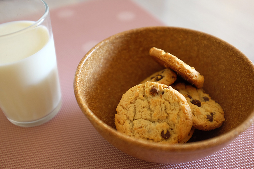 Novo Cookie Passatempo + Leite