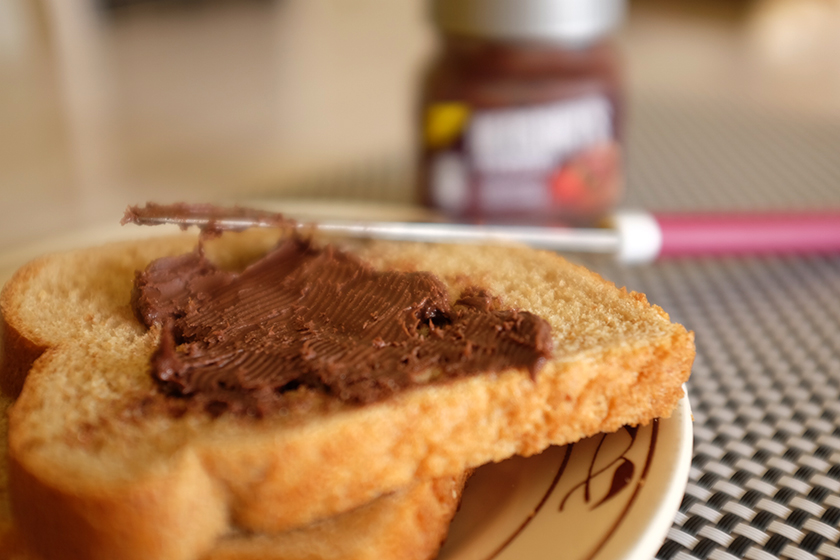 Hershey's Creamy no pão