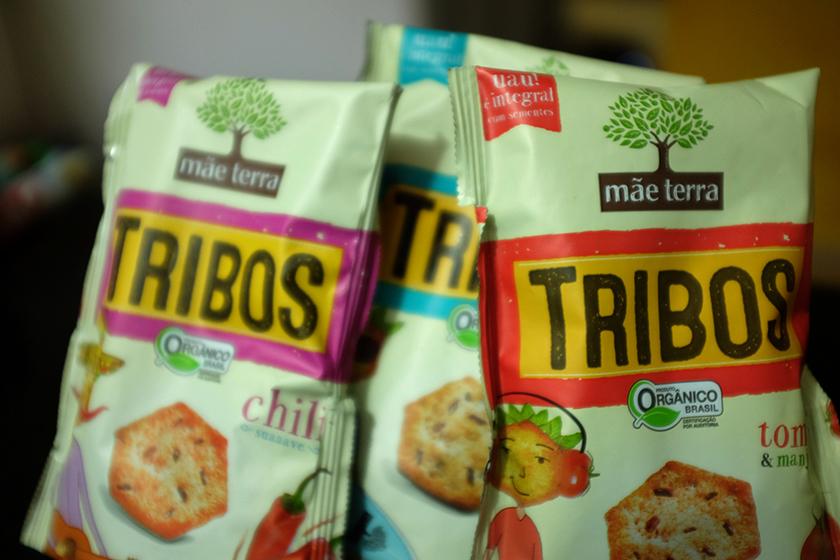 Snacks orgânicos Tribos Mãe Terra