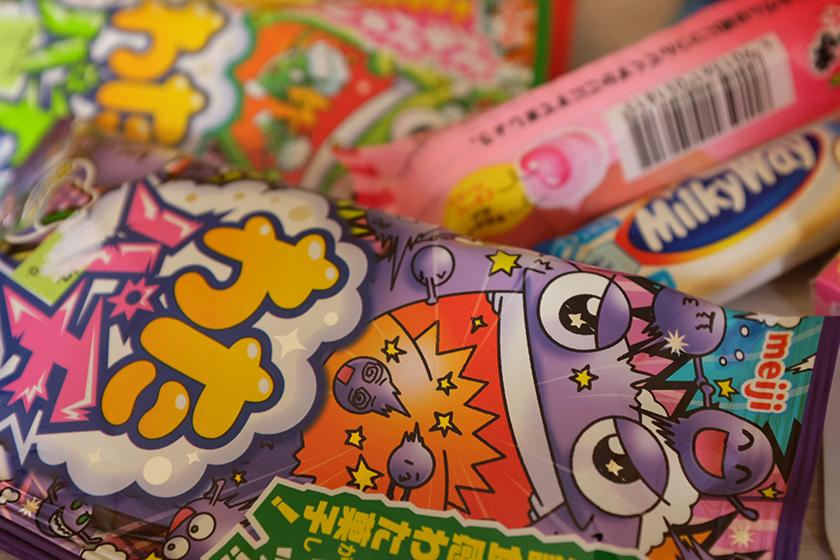 Compras doces chocolates japoneses bairro Liberdade