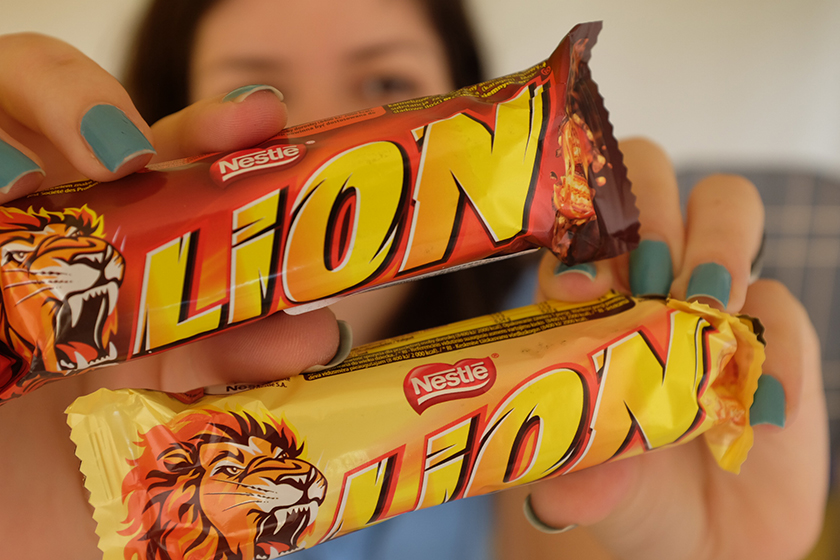 Lion Nestlé chocolates japoneses bairro Liberdade