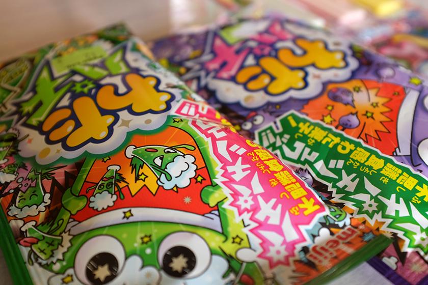 Meiji Wata Pachi algodões doces explosivos japoneses bairro Liberdade