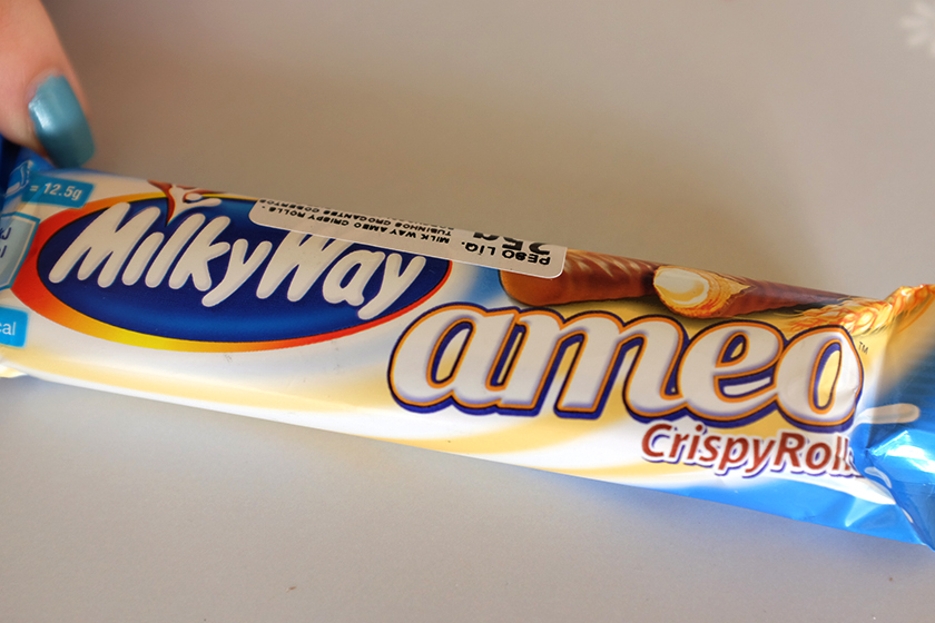 Milky Way Ameo chocolates japoneses bairro Liberdade
