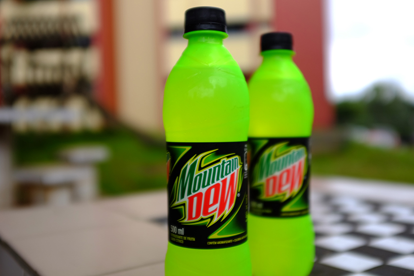 Novo refrigerante cítrico Mountain Dew
