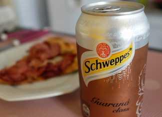 Novo Schweppes guaraná class