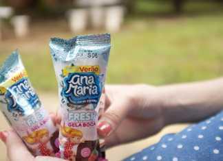 Bolinho Ana Maria fresh gela boca