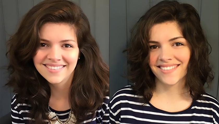Meu novo corte de cabelo Dove Regenerate Nutrition