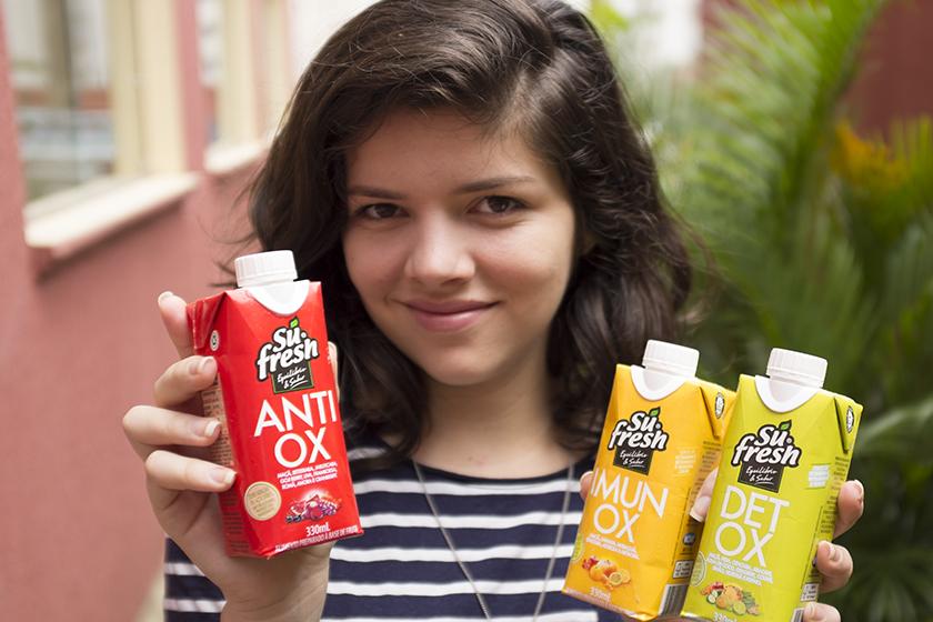 Sucos Sufresh Antiox Imunox Detox
