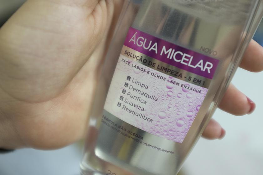 Água Micelar L'oréal Paris Funções