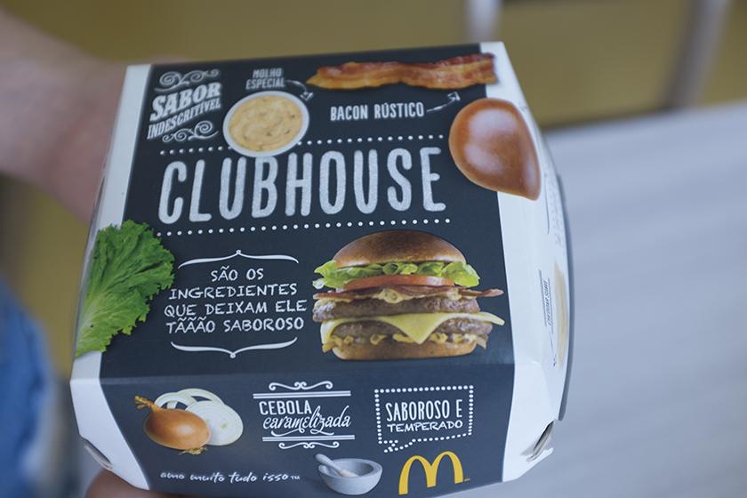 Caixa ClubHouse McDonald's
