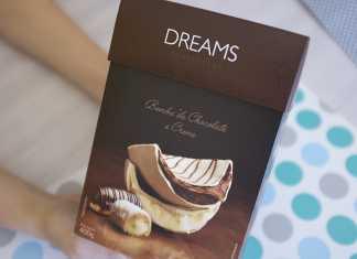 Ovo Dreams Cacau Show bomba de chocolate e creme