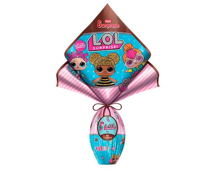 Ovo de Páscoa L.O.L Surprise Nestlé