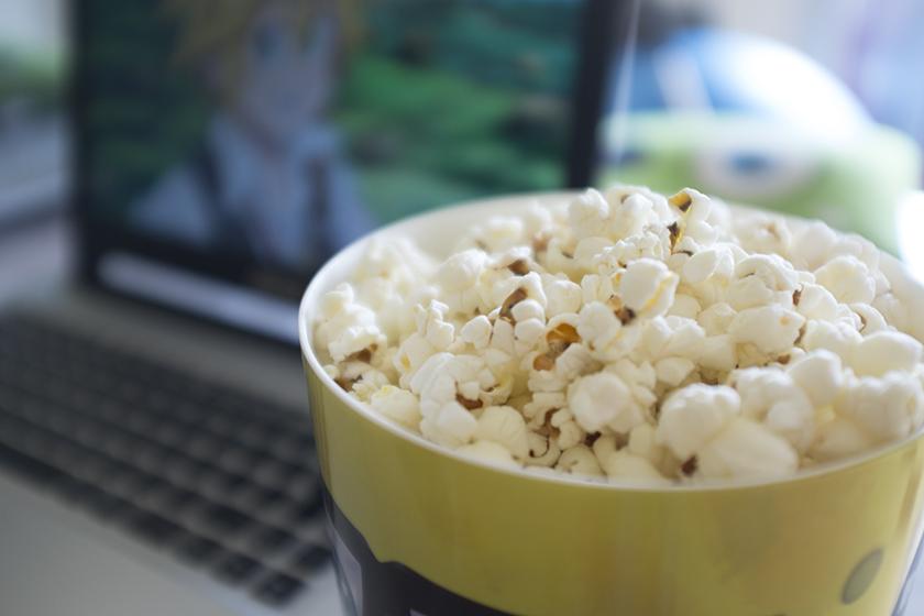 Milho de pipoca orgânico Ecobio Netflix