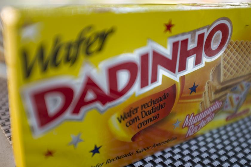 Wafer Dadinho amendoim