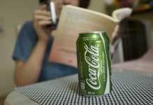 Coca-Cola Stevia 50% menos açucar