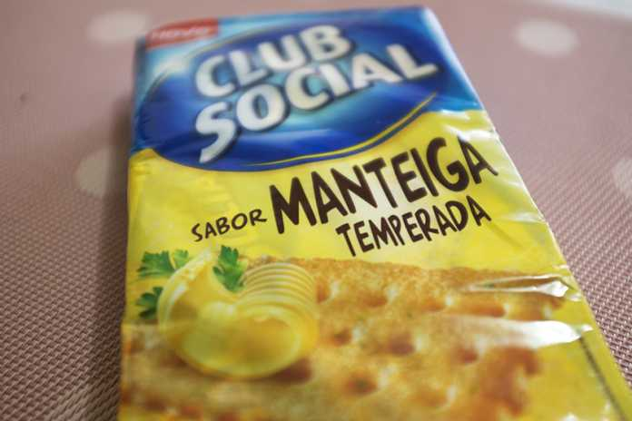 Club social manteiga temperada
