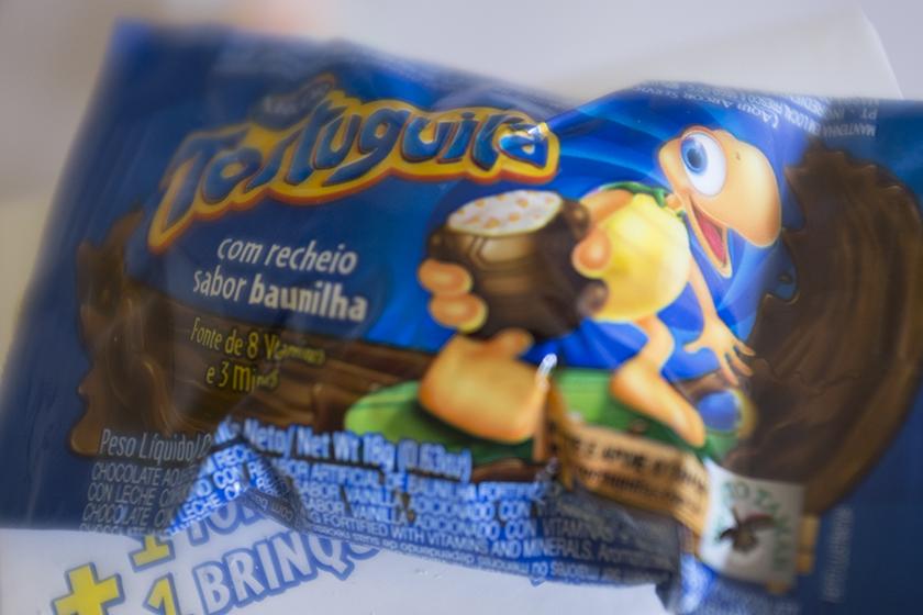 Tortuguita de chocolate