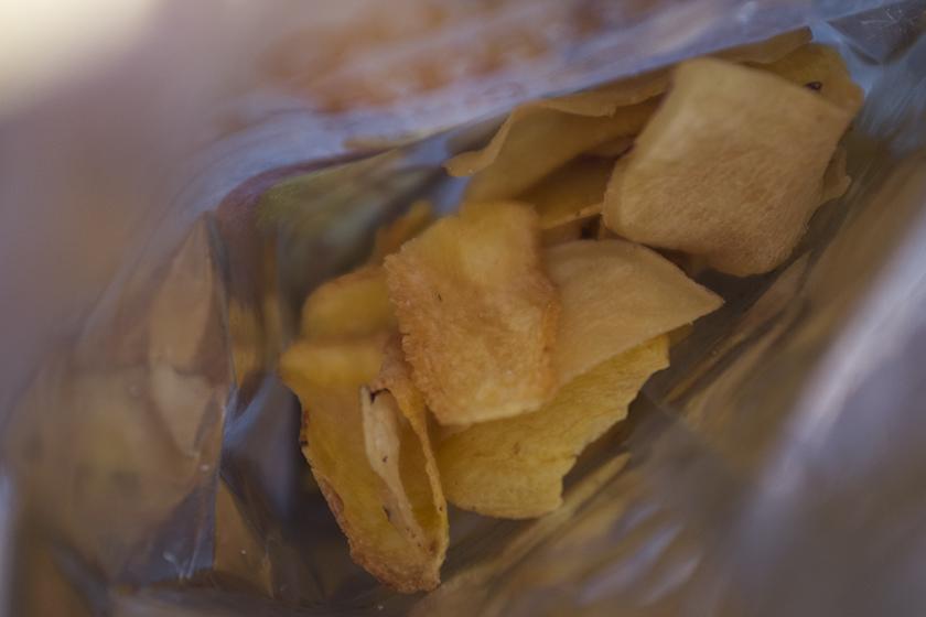 Chips mandioquinha e batata-doce Fhom