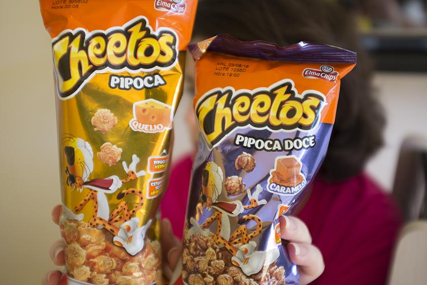Pipocas prontas Cheetos