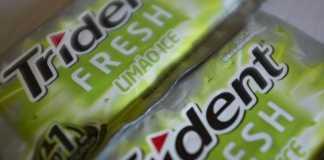 Novo Trident Fresh Limão Ice