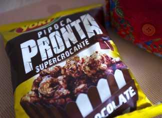 Pipoca Yoki Chocolate