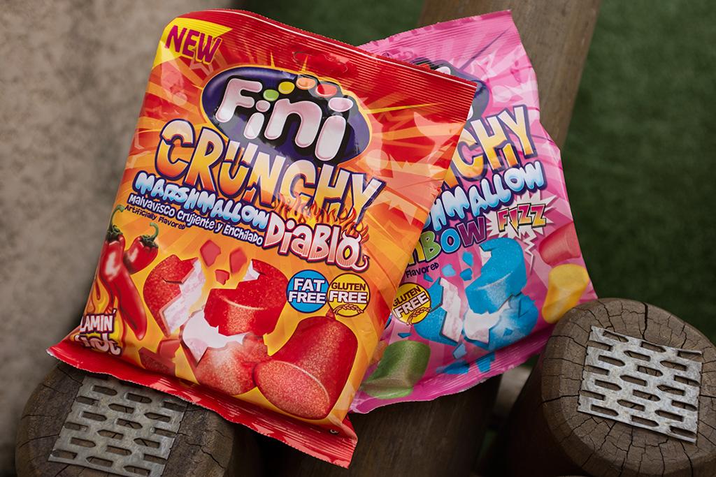 Marshmaloows Fini Crunchy Diablo e Rainbow Fizz